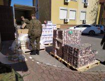 Więcej o: Dystrybucja żywności – ponad 6 ton żywności pomogą Nam dostarczyć żołnierze!